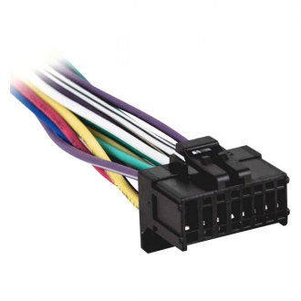 chevy monte carlo oe wiring harnesses stereo adapters carid com metra® 16 pin wiring harness aftermarket stereo plugs for pioneer avh series