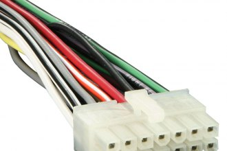 pr14 0001_8 metra� pr14 0001 14 pin wiring harness with aftermarket stereo  at fashall.co