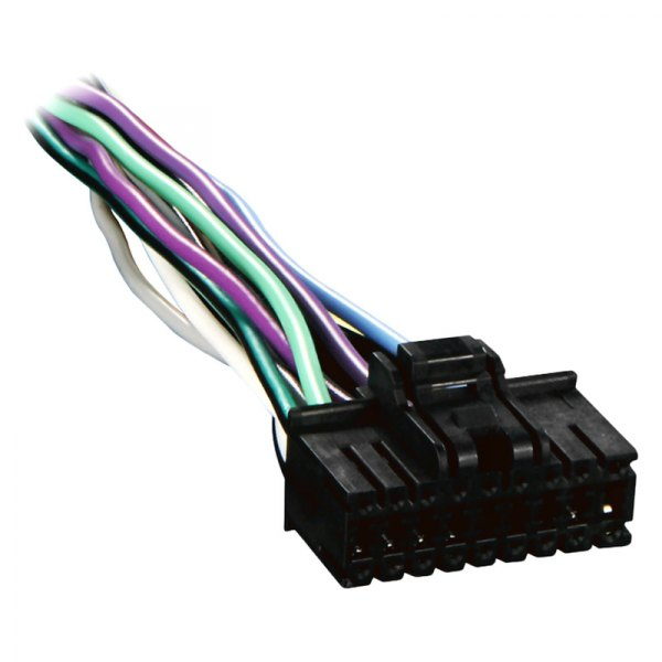 Metra® SY18-0001 - 18-pin Wiring Harness with Aftermarket Stereo Plugs on