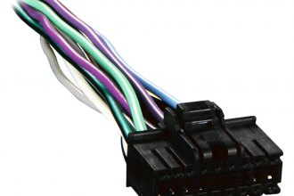metra� - 18-pin wiring harness with aftermarket stereo plugs for sony