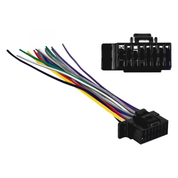 metra reg sy2x8 0001 16 pin wiring harness with aftermarket sony cdx gt07 wiring harness #8