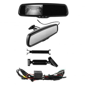 "Metra® - Rear View Mirror with Built-in 4.3"" Monitor"