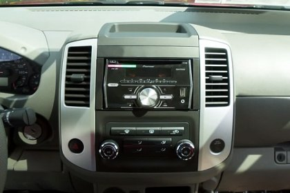 95-7624 - Metra® Double DIN Black Stereo Dash Kit with Pocket and Spacers (HD)