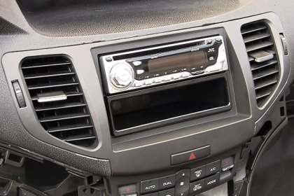 95-7805CH - Metra® Double DIN Charcoal Gray Stereo Dash Kit (HD)