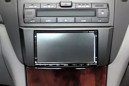 95-8160G - Metra® Double DIN Gray Stereo Dash Kit (HD)