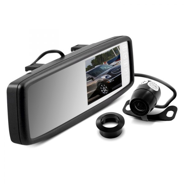 Metra® - OEM Style Rearview Mirror and Back Up Camera, Front