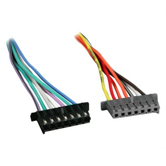 Metra® - Wiring Harness with OEM Radio Plugs