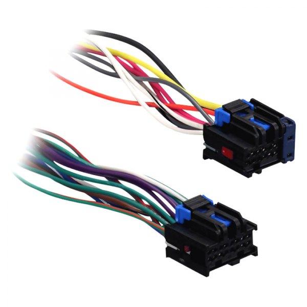 metra 174 71 2105 wiring harness with oem radio plugs