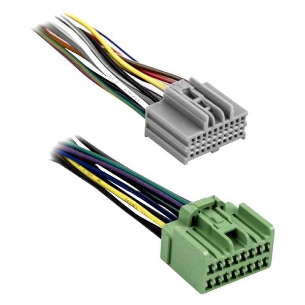 metra 174 71 2107 chevy silverado 2015 wiring harness with oem radio plugs