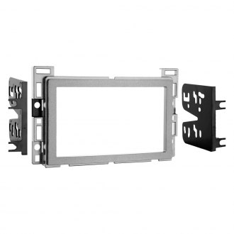 Metra® - Double DIN Silver Stereo Dash Kit