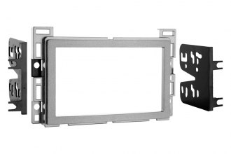 Metra® 95-3302S - Double DIN Silver Stereo Dash Kit