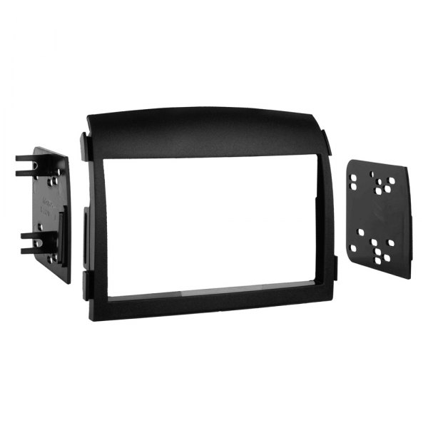 Metra® - Double DIN Black Stereo Dash Kit