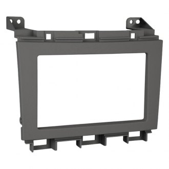 Metra® - Double DIN Gray Stereo Dash Kit