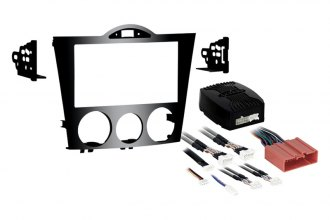 Metra® - Double DIN High Gloss Black Stereo Dash Kit