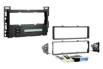 Metra® 99-3303 - Single DIN Black Stereo Dash Kit