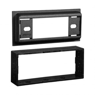 "Metra® - Single DIN Black Stereo Dash Kit with 1"" Extension"