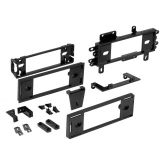 Metra® - Single DIN Black Stereo Dash Kit with Pocket