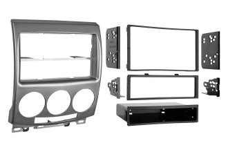 Metra® 99-7509 - Single / Double DIN Black Stereo Dash Kit