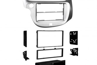 Metra® 99-7877S - Single / Double DIN Silver Stereo Dash Kit