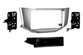 Metra® - Single / Double DIN Silver Stereo Dash Kit