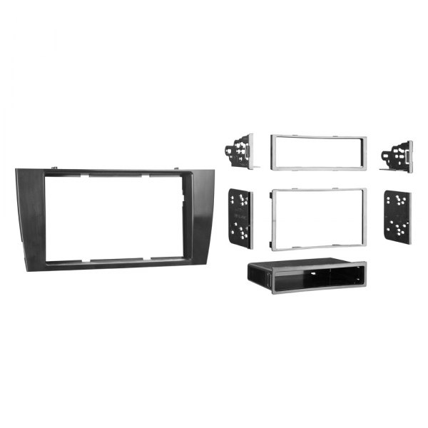Metra® - Single / Double DIN Gray Stereo Dash Kit