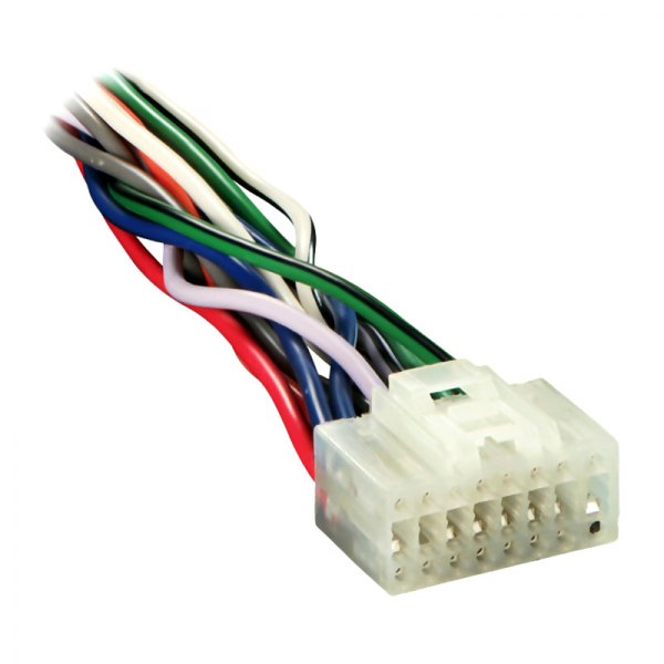 Metra® - 16-pin Wiring Harness with Aftermarket Stereo Plugs for Alpine