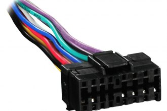 Metra® JV16-0001 - Smart Cable (16 Pin, JVC, Black Plug)