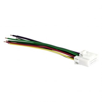 Metra® - 16-pin Wiring Harness with Aftermarket Stereo Plugs for Panasonic