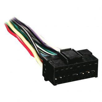 Metra® - 16-pin Wiring Harness with Aftermarket Stereo Plugs for Pioneer 2000 Series