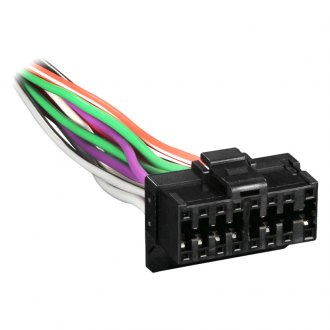Metra® - 16-pin Wiring Harness with Aftermarket Stereo Plugs for Pioneer