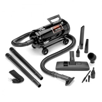 MetroVac® - Compact Vac 'N' Blo Vacuum with 4 Wheel Dolly