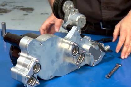 Meziere Enterprises® - Camaro Electric Water Pump Installation