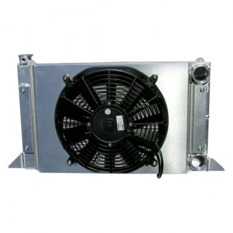 Meziere Enterprises® - Scirocco Radiator with Fan and Shroud