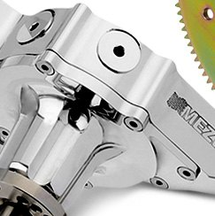 Meziere Enterprises® - Polished Billet Mechanical Water Pump