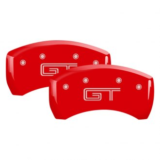 MGP® - Gloss Red Rear Caliper Covers with GT S197 Engraving