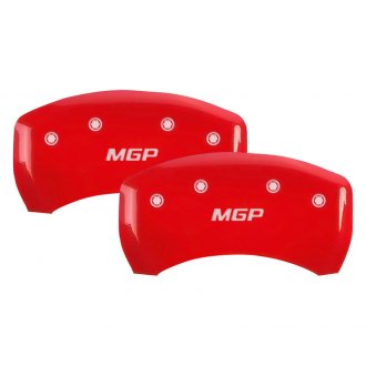 MGP® - Gloss Red Rear Caliper Covers with MGP Engraving