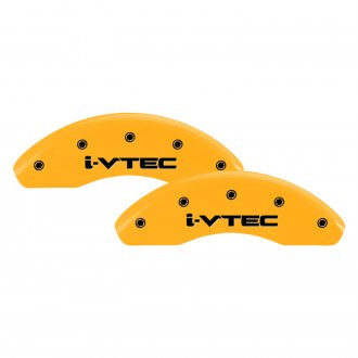 MGP® - Gloss Yellow Front Caliper Covers with i-Vtec Engraving