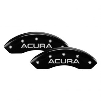 MGP® - Gloss Black Caliper Covers with Acura Engraving (Full Kit, 4 pcs)