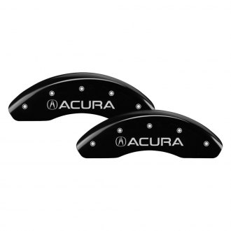 MGP® - Gloss Black Caliper Covers with Acura / TSX Engraving (Full Kit, 4 pcs)