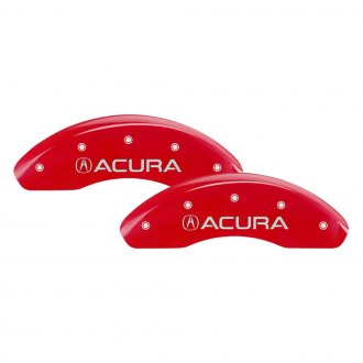 MGP® - Gloss Red Caliper Covers with Acura / NSX Engraving (Full Kit, 4 pcs)
