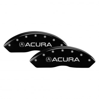 MGP® - Gloss Black Caliper Covers with Acura / RLX Engraving (Full Kit, 4 pcs)