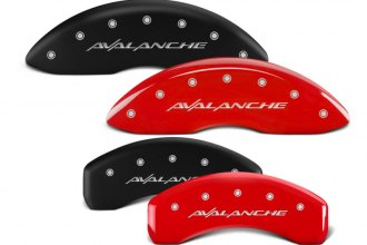 MGP® - Caliper Covers with Avalanche Engraving