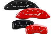 MGP® - Caliper Covers with Avenger and Stripes Engraving