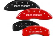 MGP® - Caliper Covers with Broken Dodge Engraving