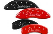 MGP® - Caliper Covers with Cadillac Cursive Engraving