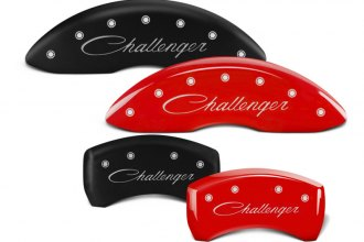 MGP® - Caliper Covers with Challenger Cursive Engraving