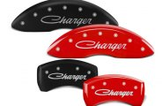 MGP® - Caliper Covers with Charger Cursive Engraving
