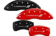 MGP® - Caliper Covers with Charger and Stripes Engraving