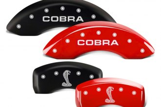 MGP® - Caliper Covers with Cobra / Snake Logo Engraving