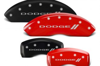 MGP® - Caliper Covers with Dodge and Stripes Engraving